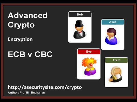 Encryption: ECB V CBC