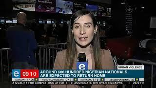 Nigerian nationals flee South Africa