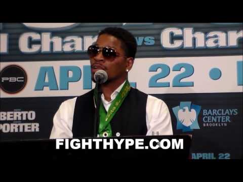 SHAWN PORTER HAS WORDS FOR KEITH THURMAN; QUESTIONS IF HE REALLY WANTS REMATCH NEXT