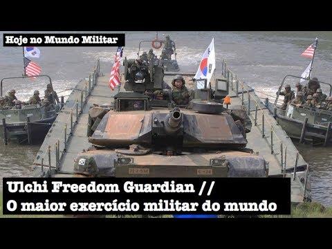 Ulchi Freedom Guardian, o maior exercício militar do mundo