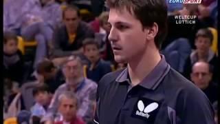 Table Tennis - Attack (Timo BOLL - GER) vs Attack (Ma LIN - CHN) - Clash of attack VII !