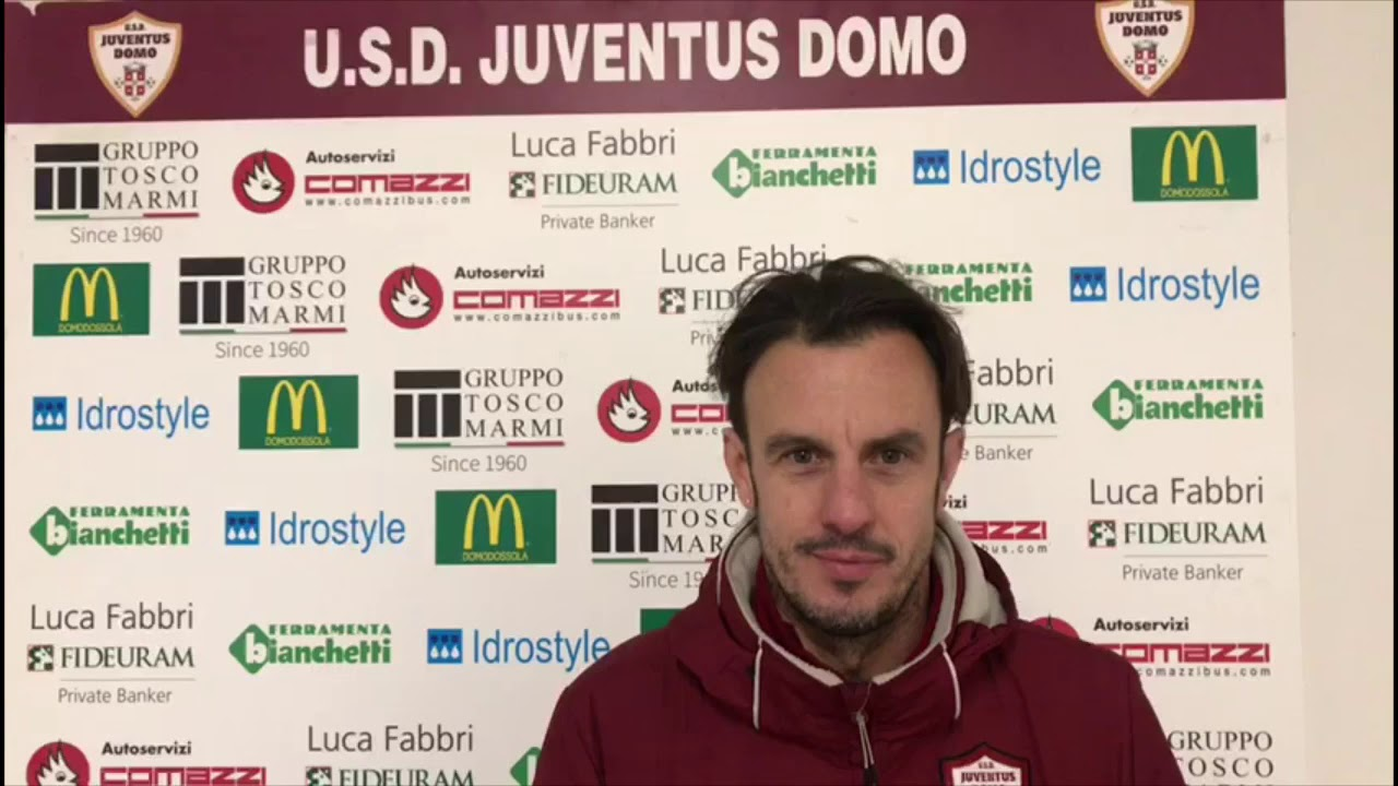 Juve Domo forte e sfortunata contro la Fulgor Valdengo intervista mister Forzatti