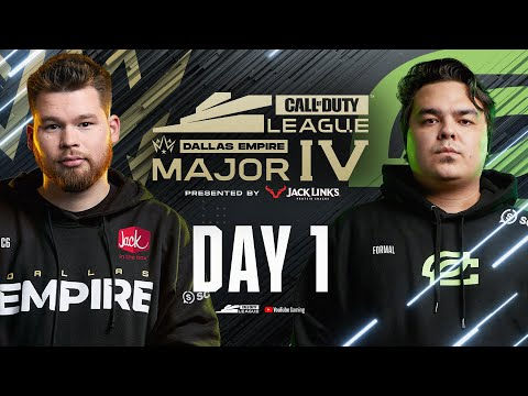 Call Of Duty League 2021 Season   Stage IV Major Tournament   Day 1