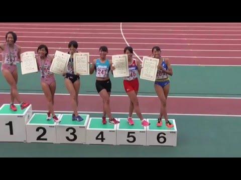 2015近畿インターハイ 女子400H表彰式