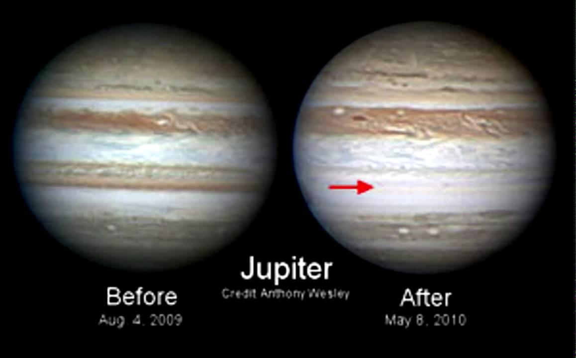Image result for jupiter changes color