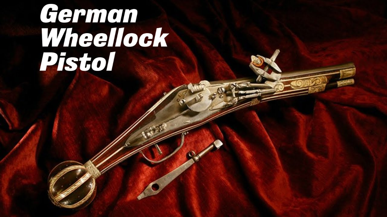 German Wheellock Pistol