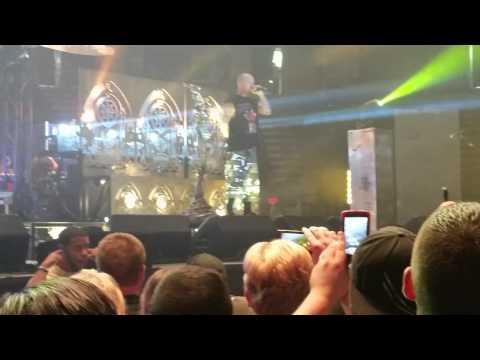 5 Finger Death Punch Ivan goes off on douche bag