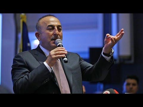 Dışişleri Bakanı Çavuşoğlu, ABD'de yaşayan Türklerle bir araya geldi