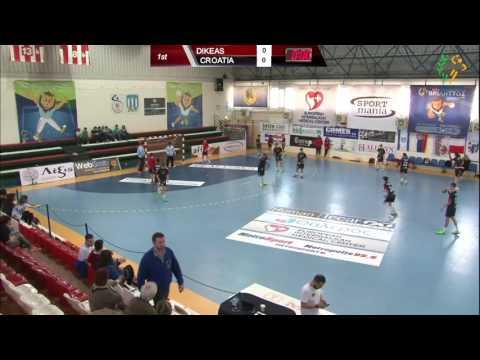 Filippio Dikeas vs Zagreb Croatia