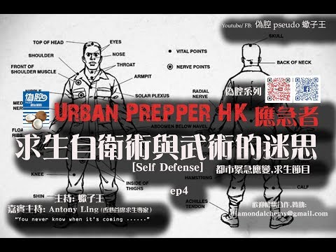 《Urban Prepper 應急者》求生自衛術的迷思 [Self Defense] ep4
