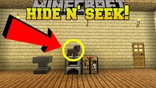 Minecraft: PIGLETS HIDE AND SEEK!! - Morph Hide And Seek - Modded Mini-Game thumbnail