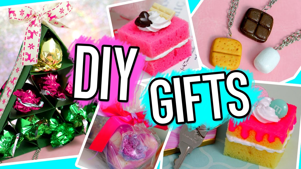 DIY Gifts Ideas You NEED To Try! For BFF, Parents