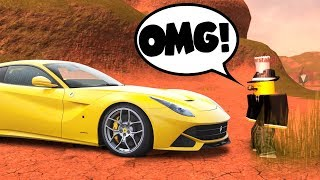 THIS IS OUR NEW CAR! (Roblox Jailbreak Roleplay)