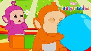Popping Balloons | Tiddly Tubbies | Children's cartoons | WildBrain - Preschool