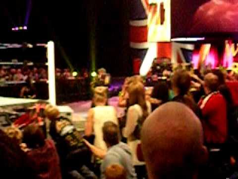 William Regal entrance at Superstars...