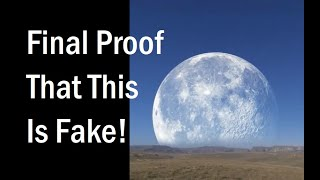 (ENGLISH) Proof The Gigantic Super Moon (North Pole Russia Canada) Is Fake