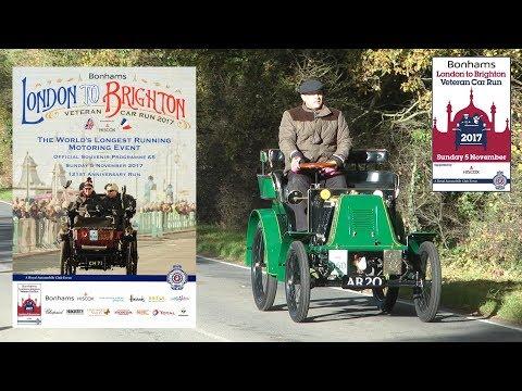 London To Brighton Veteran Car Run 2017 - Hammer Hill