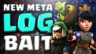 VALKYRIES ARE RUINING MY LIFE! NEW META LOG BAIT! | Clash Royale Ladder Pushing