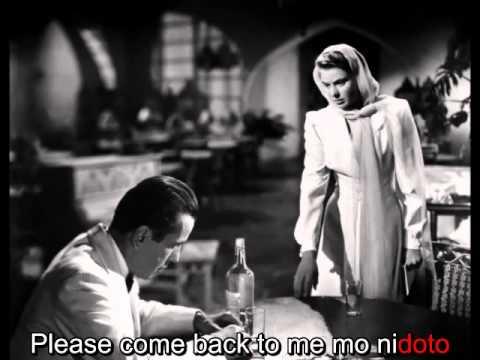 Aishu no Casablanca 哀愁のカサブランカ  Go Hiromi 郷ひろみ  karaoke