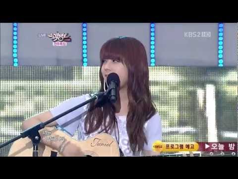 Juniel (주니엘) Feat. Jung Yong Hwa ~ Love Fool (바보) 120608