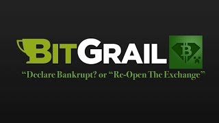 "BitGrail Founder - Does A Poll On Twitter ""Declare Bankrupt"" or ""Re-Open The Exchange"""