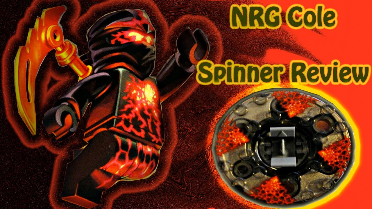 ninjago nrg cole spinner review lego set 9570 youtube