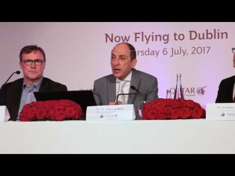 Qatar Airways CEO speaking about the Laptop Ban being lifted - Unravel Travel TV