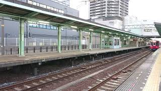 南海高野線 北野田駅2300系(2303編成)試運転通過