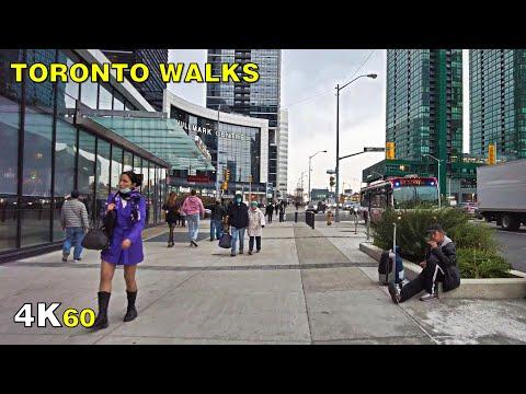 Toronto Sheppard Avenue Walk Along Line 4 on November 5, 2020