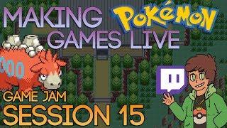 Making Pokemon Games Live (Game Jam Session 15)