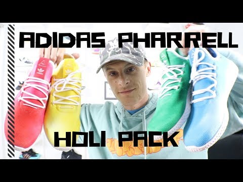 ADIDAS Pharrell Tennis Hu REVIEW - ALL 4 colors (FnF Sale pickups)