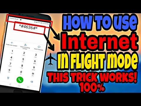 How to use Internet in flight mode , working 100% with proof!!!
