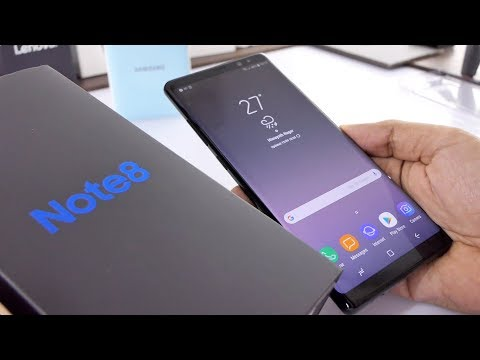 Samsung Galaxy Note 8 Unboxing & Overview Indian Unit