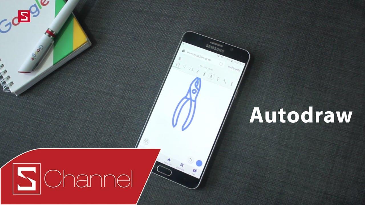 Schannel – Vẽ xấu cũng tự biến thành đẹp với ứng dụng Auto Draw!