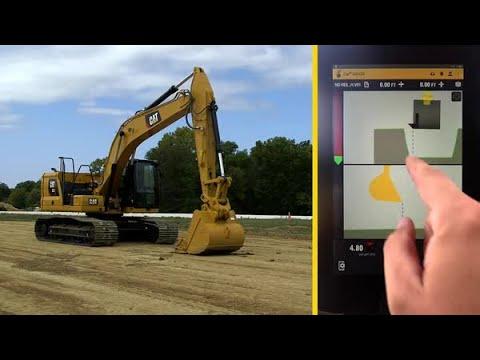 Cat® Next Generation Excavator Operator Training: Grade with 3D