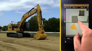 Cat® Next Generation Excavator Operator Training: Grade with 3D