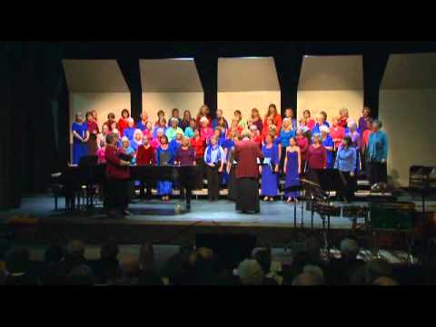 Walker Choral Festival, Part 9 -- Talk (#1) by conductor Dawn Willis