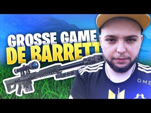 UNE BELLE GAME DE BARRETT !