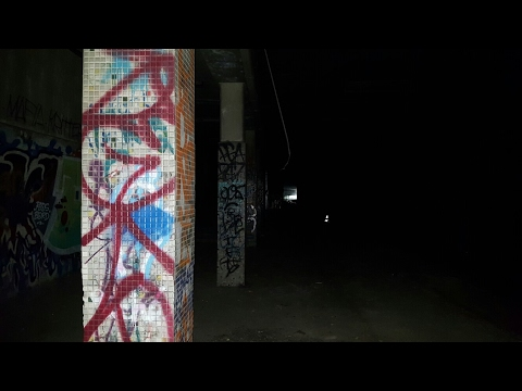 THEY FILLED IT IN!  RETURNING TO THE SUBWAY STATION GHOST BOX ,(Hamilton abandoned subway station