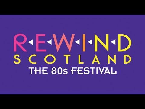 Rewind Scotland the 80s Festival 2017 Lineup
