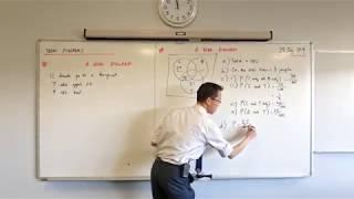 Venn Diagrams for Probability (2 of 3: Interpreting a given diagram)
