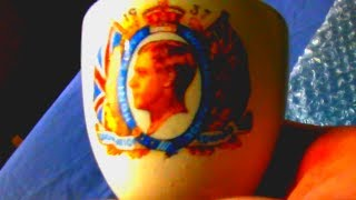 Coronation Never Happened - Edward VIII Commemorative Egg Cup Abdication Wallis Simpson