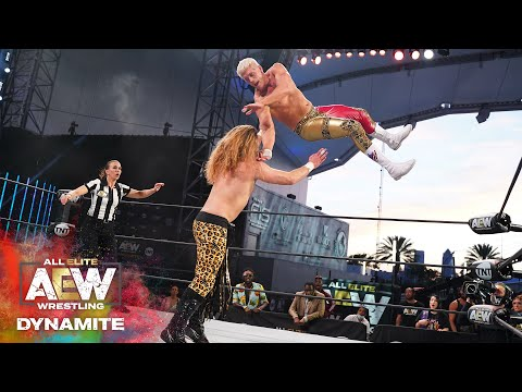 WAS JOEY JANELA ABLE TO TAKE OUT CODY? | AEW DYNAMITE 5/6/20, JACKSONVILLE, FL