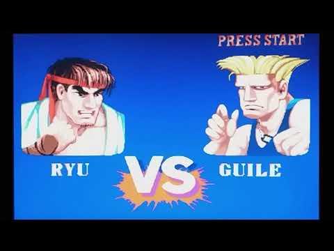 Street Fighter II - Hyper Fighting (XBOX 360) Gameplay