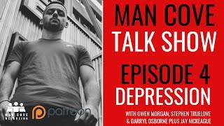 How to deal with depression - The Man Cove Talk Show - Mental Heath Podcast - Man Cove Wellbeing