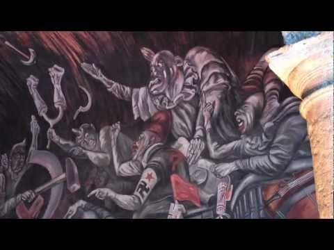 Incredible Orozco Murals at Guadalajara Mexico's Palacio Gobierno Jalisco's State House