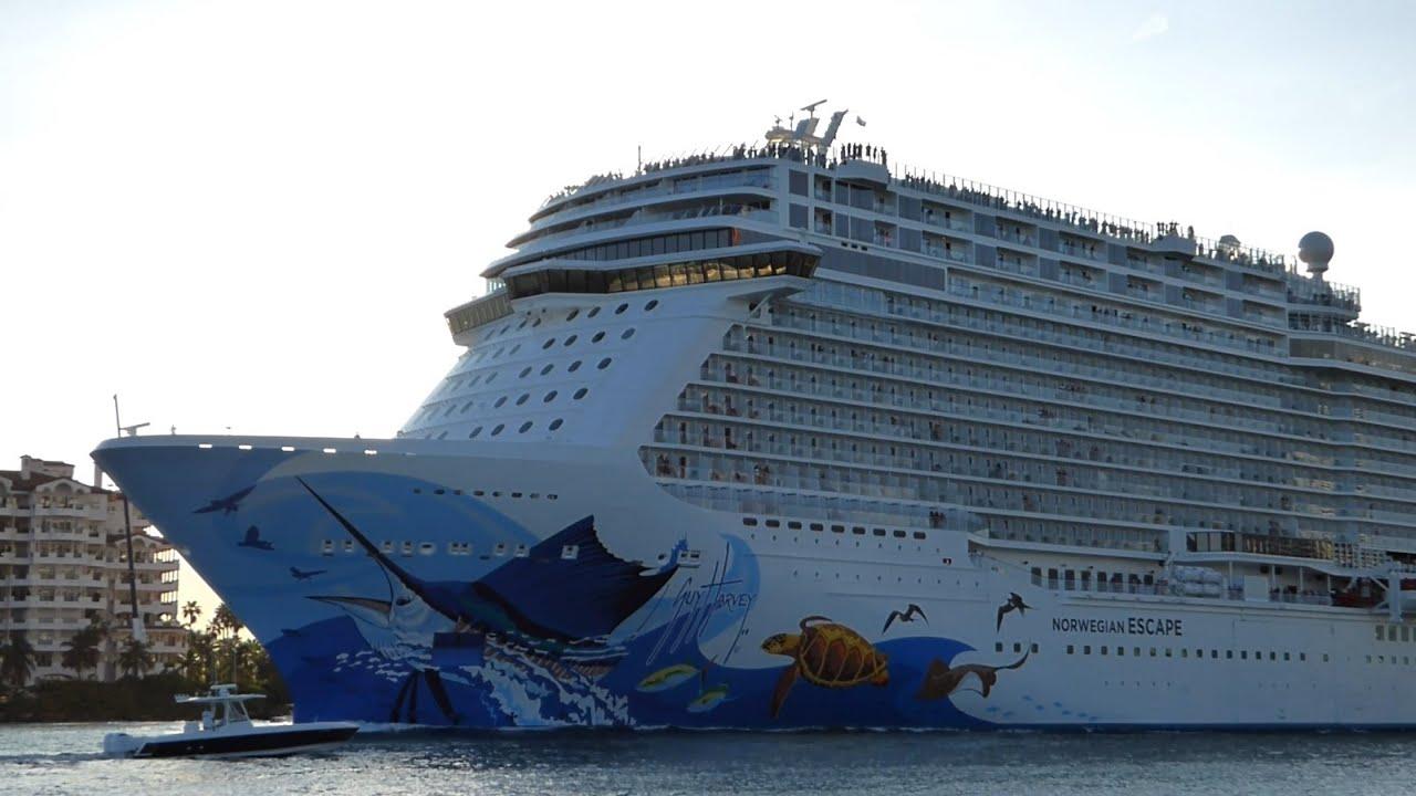 Norwegian Escape First Daytime Port Of Miami Departure