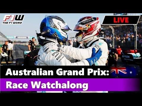 Australian Grand Prix: Race Commentary And Chat