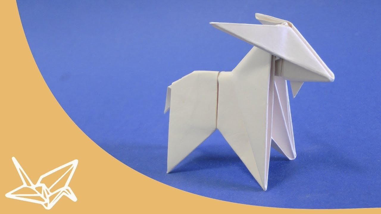 Origami Goat Instructions Peterpaul Forcher