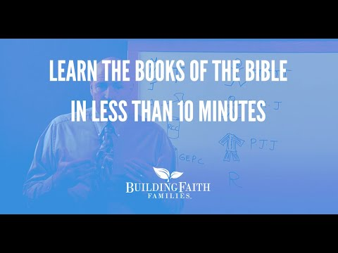 Learn the Books of the Bible in Less Than 10 Minutes